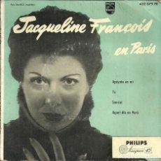 Discos de vinilo: JACQUELINE FRANÇOIS EN PARIS - DISCOS PHILIPS - 60'S. Lote 233901615