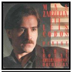 Discos de vinilo: XX SINGLE, THE ROYAL PHILHARMONIC ORCHESTRA, LUIS COBOS DIRIGE.. Lote 233905970