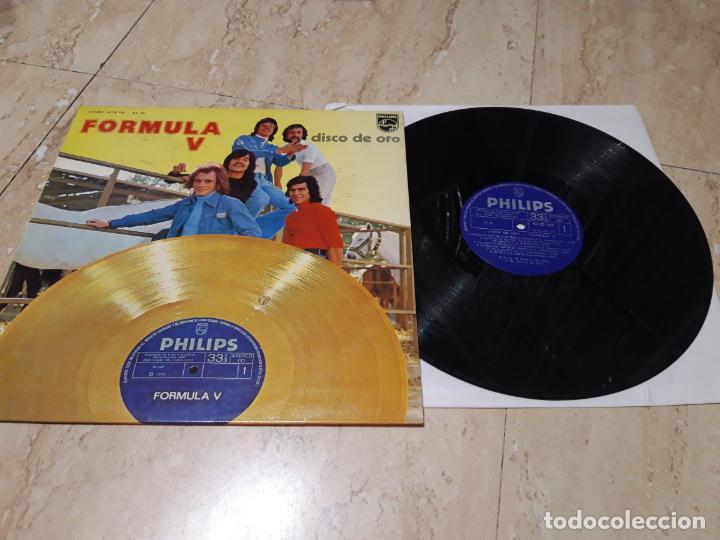 FORMULA V DISCO DE ORO LP 1975 PHILIPS RARO PRIMERA EDICION NO LA DEL 76-EXCELENTE ESTADO (Música - Discos - LP Vinilo - Grupos Españoles 50 y 60)