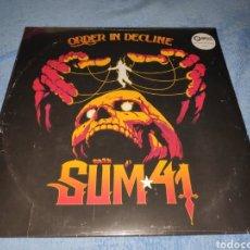 Discos de vinilo: ÁLBUM LP DISCO VINILO SUM 41 ORDER IN DECLINE NUEVO. Lote 233912105