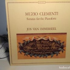 Discos de vinilo: LP MUZIO CLEMENTI - SONATAS FOR THE PIANOFORTE ( JOS VAN IMMERSEEL ). Lote 233916790