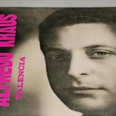 Discos de vinilo: ALFREDO KRAUS /VALENCIA /LOS GAVILANES /AMAPOLA /LA PÍCARA MOLINERA / MONTILLA EPFM-101 / 1959.. Lote 233925310