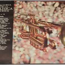 Discos de vinilo: HISTORIA DE LA MUSICA CODEX - LOUIS ARMSTRONG - SINGLE ESPAÑOL DE 1967. Lote 233925570