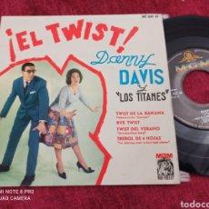 Discos de vinilo: DANNY DAVIS Y LOS TITANES EP 1961. Lote 233927020