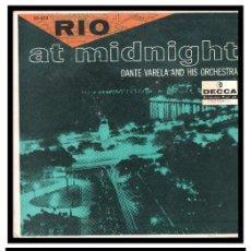 Discos de vinilo: XX SINGLE, DANTE VARELA, AMOR, BAIA, NOCHE DE RONDA, ADIOS, EL COCO, ESTRELLITA, MISIRLOU Y DEMAS.. Lote 233929230