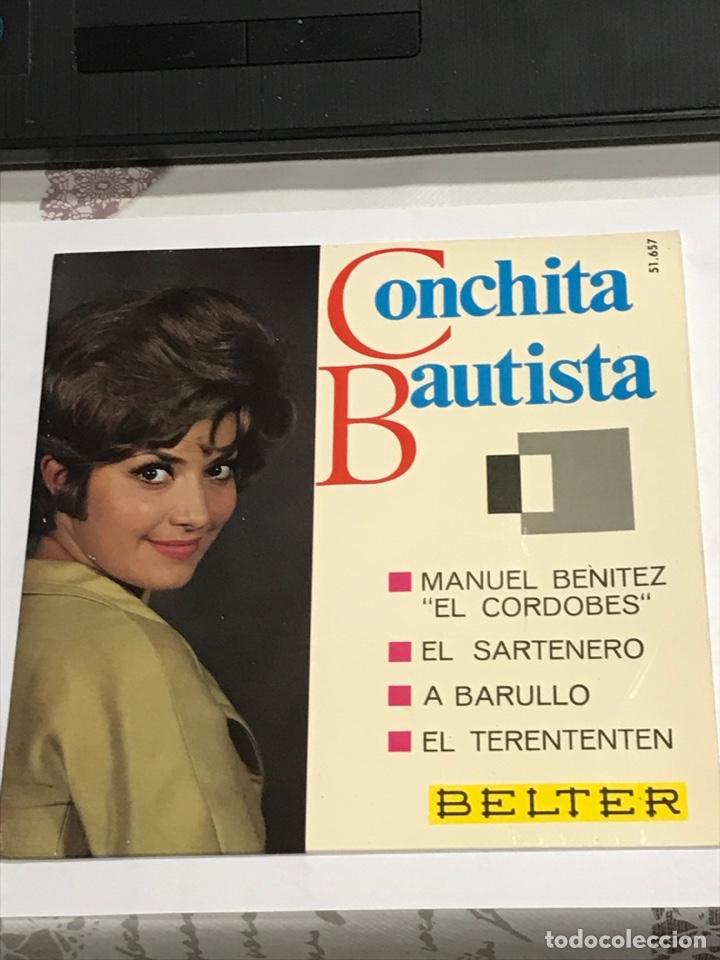 DISCO CON DEDICATORIA FIRMADA , DE CONCHITA BAUTISTA,BELTER REFERENCIA 51657, IMPECABLE (Música - Discos de Vinilo - EPs - Solistas Españoles de los 70 a la actualidad)