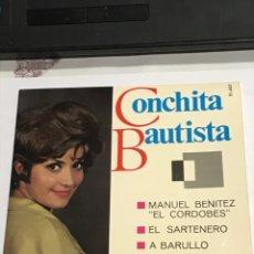 Discos de vinilo: DISCO CON DEDICATORIA FIRMADA , DE CONCHITA BAUTISTA,BELTER REFERENCIA 51657, IMPECABLE. Lote 233929700