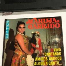 Discos de vinilo: DISCO CON DEDICATORIA FIRMADA POR MARUJA GARRIDO, BELTER REFERENCIA 52300, EN PERFECTO ESTADO. Lote 233929975