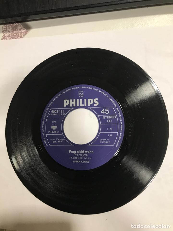 Discos de vinilo: Disco Susan Aviles firmado y dedicado, Philips Ref 6003111, sin usar - Foto 4 - 233936370