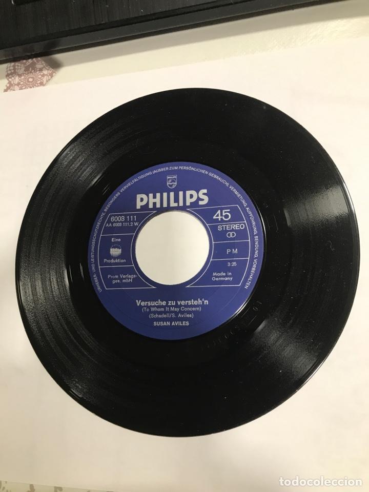 Discos de vinilo: Disco Susan Aviles firmado y dedicado, Philips Ref 6003111, sin usar - Foto 5 - 233936370