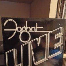 Discos de vinilo: FOGHAT-LIVE. Lote 233955085