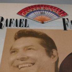 Discos de vinilo: LP - RAFAEL FARINA - ANTOLOGIA DE LA CANCION ESPAÑOLA VOL. 18. Lote 233964140