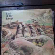 Discos de vinilo: LP. LORD OF THE RINGS.RAREZA.1972.AMPEX RECORDS.EL.SEÑOR DE LOS ANILLOS.BO HANSSON.VINILO.MUY BUENO.. Lote 233966535