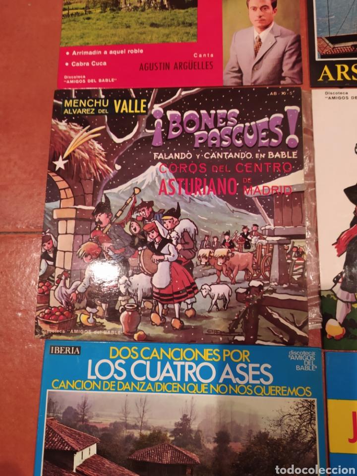 Discos de vinilo: Amigos del Bable. Lote Singles - Foto 2 - 233969505
