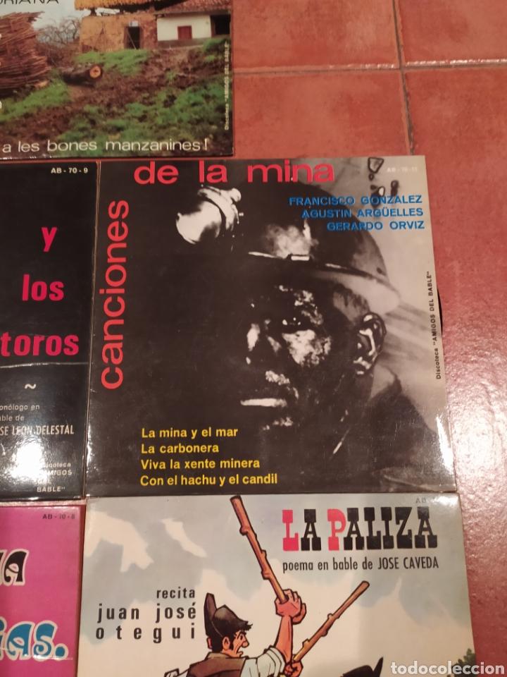Discos de vinilo: Amigos del Bable. Lote Singles - Foto 3 - 233969505