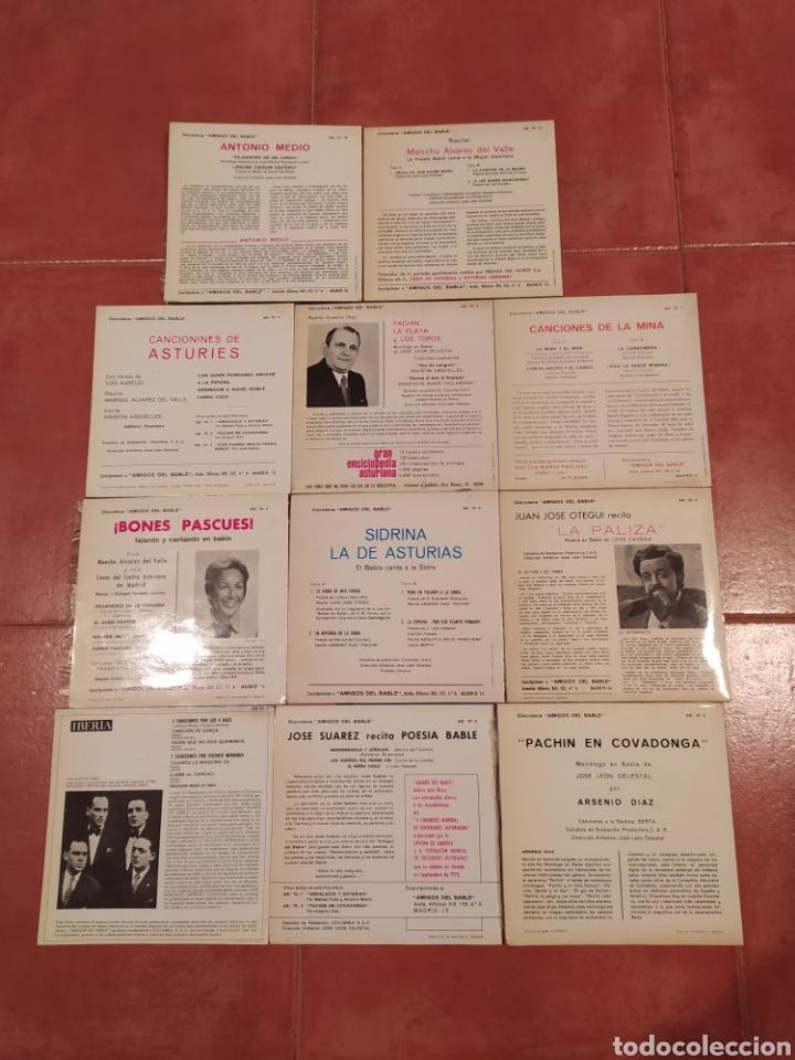 Discos de vinilo: Amigos del Bable. Lote Singles - Foto 4 - 233969505