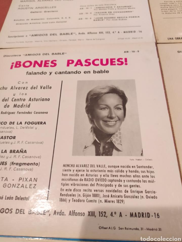 Discos de vinilo: Amigos del Bable. Lote Singles - Foto 5 - 233969505