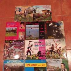 Discos de vinilo: AMIGOS DEL BABLE. LOTE SINGLES. Lote 233969505