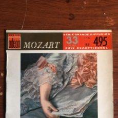 "Discos de vinilo: EP 7"" VINILO MOZART, EDICIÓN FRANCESA ODEON CON 4 TEMAS 33 RPM. Lote 233972175"