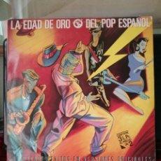 Dischi in vinile: LA EDAD DE ORO DEL POP ESPAÑOL 1987 / 37 SINGLES TRIPLE LP ARIOLA.. Lote 233977110