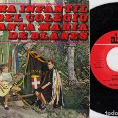Discos de vinilo: TUNA INFANTIL DEL COLEGIO SANTA MARIA DE BLANES - LA TUNA PASA - EP DE VINILO. Lote 233978510