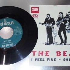 Discos de vinilo: THE BEATLES --- I FEEL FINE & SHE´S A WOMAN ----- VINILO VG +/ FUNDA EX. Lote 233991135