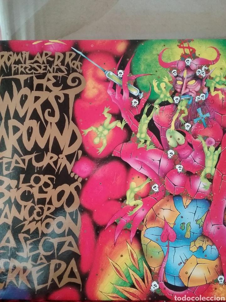 THE WORST AROUND 1990 ROMILARD-D RECORDS (Música - Discos - LP Vinilo - Grupos Españoles de los 90 a la actualidad)