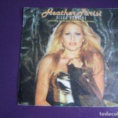 Disques de vinyle: HEATHER PARISI - DISCO BAMBINA (CANTADA EN ESPAÑOL) - SG EPIC PROMO 1979 - ELECTRONICA DISCO 70'S. Lote 234006275