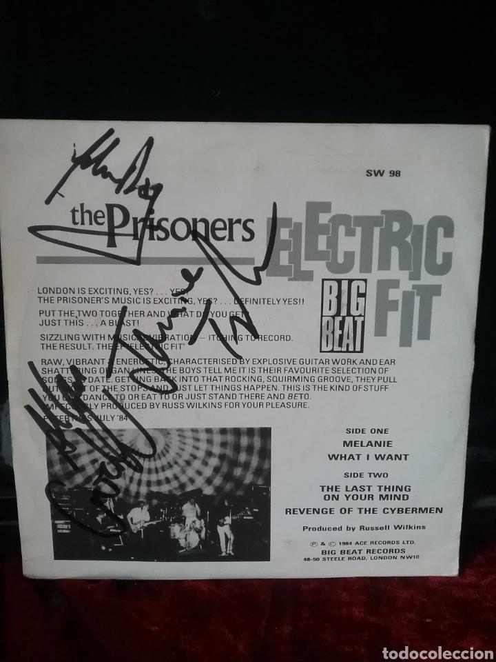 Discos de vinilo: THE PRISONERS 1984 ACE RECORDS BIG BEAT RECORDS .FIRMADO - Foto 2 - 234012890