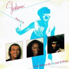 Discos de vinilo: SHALAMAR – THERE IT IS. Lote 234024950