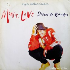 Discos de vinilo: MONIE LOVE – DOWN TO EARTH (THE REMIXES). Lote 234026855