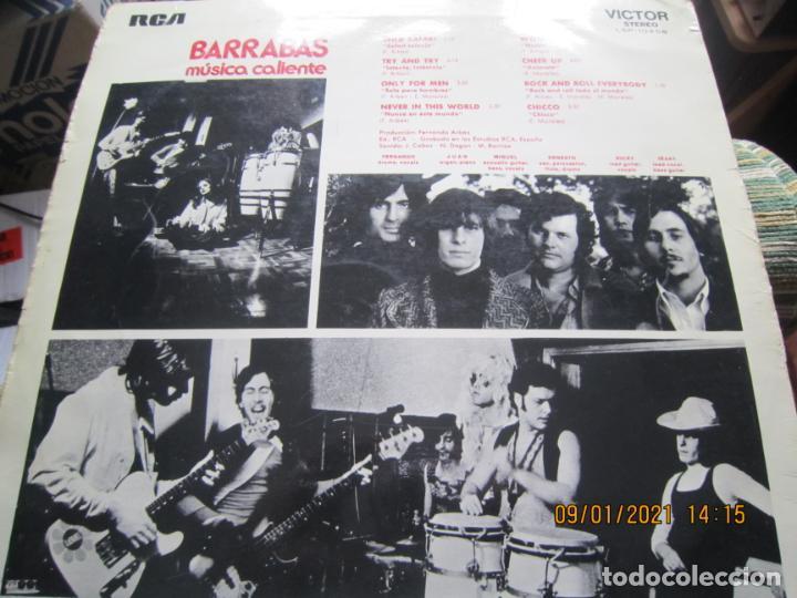 Discos de vinilo: BARRABAS - MUSICA CALIENTE LP -ORIGINAL ESPAÑOL - RCA RECORDS 1972 - STEREO - - Foto 7 - 234027270