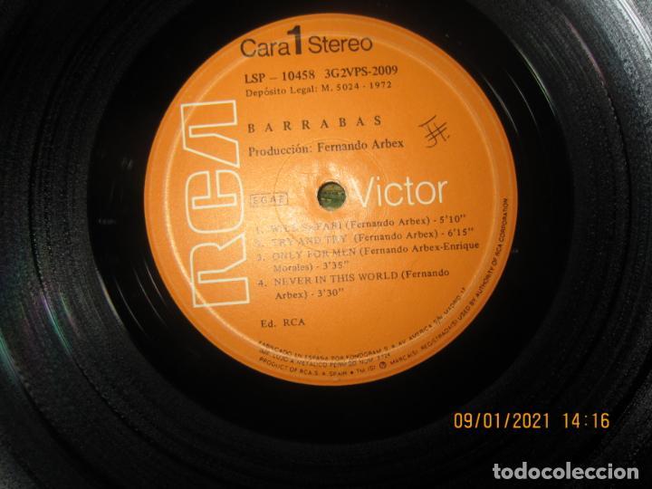 Discos de vinilo: BARRABAS - MUSICA CALIENTE LP -ORIGINAL ESPAÑOL - RCA RECORDS 1972 - STEREO - - Foto 10 - 234027270