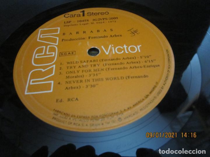 Discos de vinilo: BARRABAS - MUSICA CALIENTE LP -ORIGINAL ESPAÑOL - RCA RECORDS 1972 - STEREO - - Foto 11 - 234027270