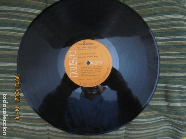 Discos de vinilo: BARRABAS - MUSICA CALIENTE LP -ORIGINAL ESPAÑOL - RCA RECORDS 1972 - STEREO - - Foto 12 - 234027270