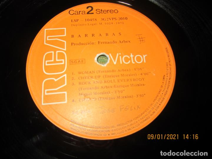 Discos de vinilo: BARRABAS - MUSICA CALIENTE LP -ORIGINAL ESPAÑOL - RCA RECORDS 1972 - STEREO - - Foto 13 - 234027270