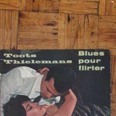 Discos de vinilo: TOOTS THIELEMANS – BLUES POUR FLIRTER LABEL: POLYDOR – 46 114, POLYDOR – LPL 1402/3 FORMAT: VINYL. Lote 234030225