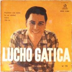 Discos de vinilo: EP LUCHO GATICA. Lote 234031235