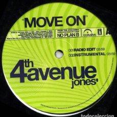 Discos de vinilo: 4TH AVENUE JONES – MOVE ON. Lote 234033980