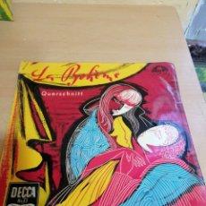 Discos de vinilo: GIACOMO PUCCINI LA BOHEME. Lote 234035110