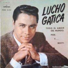 Discos de vinilo: EP LUCHO GATICA. Lote 234035120