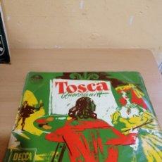 Discos de vinilo: GIACOMO PUCCINI TOSCA QUERSCHNITT. Lote 234035820
