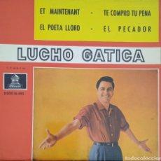 Discos de vinilo: EP LUCHO GATICA. Lote 234037240