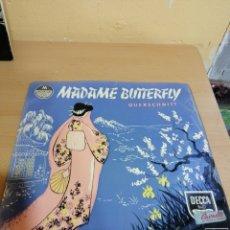 Discos de vinilo: GIACOMO PUCCINI MADAME BUTTERFLY. Lote 234038075