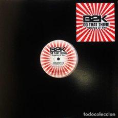 Discos de vinilo: B2K FEATURING LIL' KIM – DO THAT THING. Lote 234038295