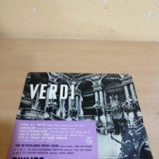 Discos de vinilo: VERDI OPERA CHOIR. Lote 234038915