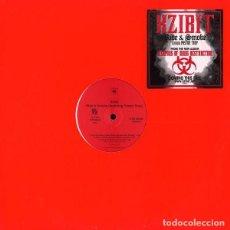 Discos de vinilo: XZIBIT FEATURING PASTOR TROY – RIDE & SMOKE. Lote 234041470