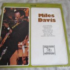 Discos de vinilo: MILES DAVIS - LP - 33 RPM - EDITADO EN BRASIL. Lote 234043920