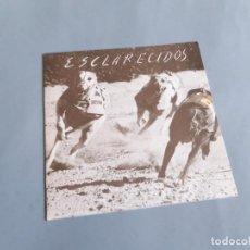 Discos de vinilo: DISCO SINGLE DE LOS ESCLARECIDOS - PÁNICO EN LA CONVENCIÓN - SECCIÓN FEMENINA - HÚMEDA. Lote 234053415