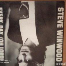 Discos de vinilo: STEVE WINWOOD EVERY DAY SINGLE SPAIN PROMO. Lote 234065090